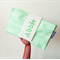 Personalised Nappy Wallet - Mint Arrow