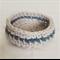 Upcycled yarn crochet basket