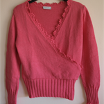 Zoey Mock Crossover Sweater - Size 10