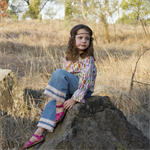 Constance story - Boho girls pants