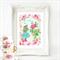 Alice in Wonderland print Nursery decor, A4 Print