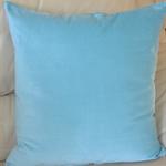 Aqua Velvet Designer Cushion Cover