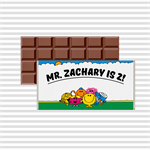 Mr Men - 40g Chocolate wrapper