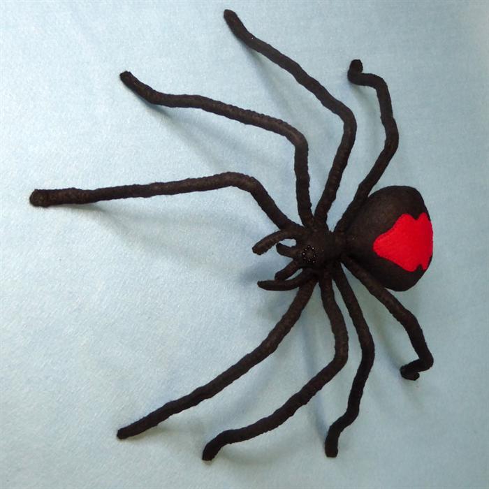 Giant Redback Spider Soft Sculpture | Sharlene Jones-Martin | madeit ...