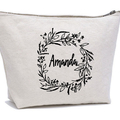 Personalized Cosmetic Bag , Cosmetic Pouch , Makeup Bag