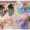 HandMade Skull Ribbon hair clips,Fairy Kei Cute hair clip,Pastel Hair clips