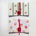 Gift Voucher / Card Envelopes – Set of 2 – Cherry & Cake