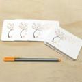 Mini Gift Card Pack + Envelopes - Autumn Fall Tree - Set of 4 - GC06