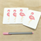 Mini Gift Card Pack + Envelopes - Pink Flamingo - Set of 4 - GC02