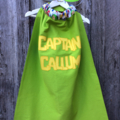~ Boys Personalised Basic Superhero Set ~ MADE TO ORDER ~ Cape & Mask ~