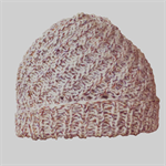 Spiral woollen hat to fit  newborn to 12 months