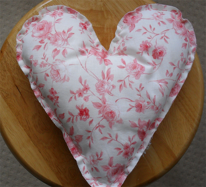 Shabby Chic Heart Pillows : LOVE HEART PILLOW Cushion Shabby Chic Gift Hand Made Baby Nursery Decor Sigi Design Co ...