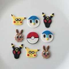 Pokemon EdibleCupcake Toppers