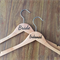 "Essential ""Title"" hanger; hanger; coat hanger; wedding hanger; bride hanger"