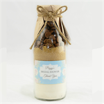 25 wedding favour cookie mix with personalised Floral label