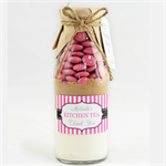 25 Cookie Mix favours with personalised Vertical striped label attached