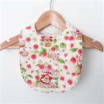 Everyday Bib - Strawberry Shortcake - Cream - Retro - Baby Girl