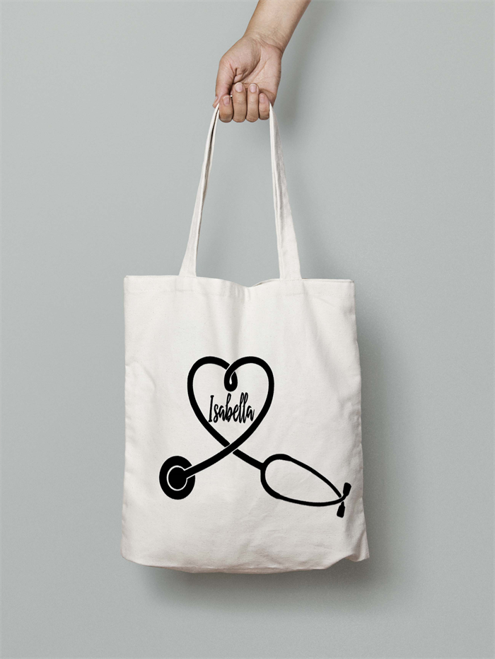 Nurse Tote Bag Personalised Gift Monogrammed Personalized