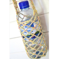 Water Bottle Carrier in Natural with Pastel Sherbet Flecks