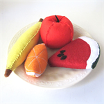 Fruit Felt Play Food