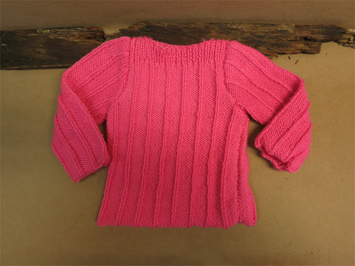 Baby Clothes Wool Knit Toddler Jumper Hot Pink Sweater