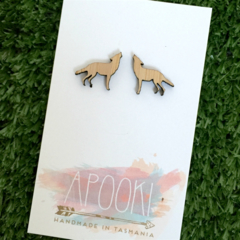 Buy 3 get 4th FREE Bamboo Wolf Earrings