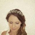 Wedding Hair vine, Babies breath, boho bridal crown, Wedding Hair piece, Bridal