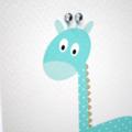 Baby Boy Card, Blue Giraffe Card, It's a Boy Card, New Baby Card, BBYBOY039