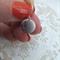 Rhodium Bird Pendant Earrings