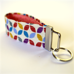 Wrist key fob - Geo Shapes
