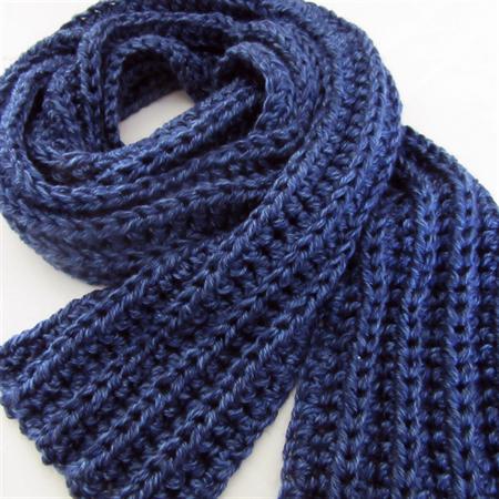 Knitting Pattern For A Long Scarf : Blue Knit Scarf, Crochet, Long Winter Scarf, Mens Scarves, Unisex Sesen Fas...