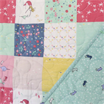 Salt Water Mermaids & Seahorses - Cot Quilt