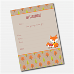 Woodland Invitation - 12 pack inc. envelopes