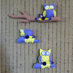 Owl Baby Mobile Gift, Nursery Mobiles, Babies Shower Gifts, Owls Decorations