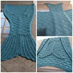 Mermaid Tail Blanket adult size custom made to order