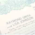 Printable DIY Wedding Invitation, RSVP and Wishing Well Suite - Elegant Lace