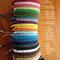Handmade Waxed Cotton Friendship Bracelet/ Anklet - Solomons Bar