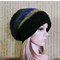 Men Womens Knit Hat, Bohemian Wool Slouchy Hat Chunky Soft Boho Beanie, Gypsy