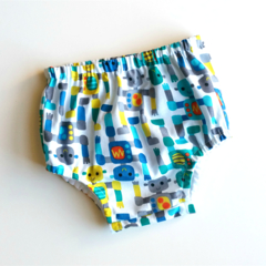 Robots Baby Boy Nappy Cover / Pants Size 1