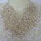 Fashion Elegant Hand made Artificial Round Pearl Bib Necklace for Wedding