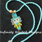 Mad Hatter Beaded Necklace