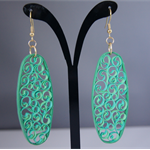 Forest Quilled Earrings