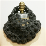 Grey Crochet Chunky Infinity Scarf