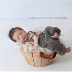 Mohair Overalls / Newborn Photography Prop / Baby Boy Gift / Romper / Brown Grey