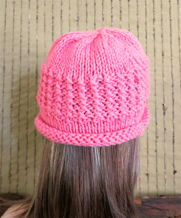 Crochet Hat Patterns With Cuff : Crochet Hat, Womens Hat, Chunky Pattern Beanie Cuff, Melon ...
