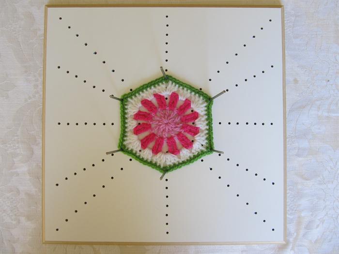 Crochet Blocking Board For Blocking Multiple Shapes Poppett