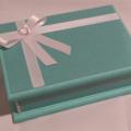 Turquoise Elegance Keepsake Trinket Treasure Jewellery Memory Bridal Wooden Box
