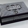Strange & Unusual Stripes Keepsake Treasure Trinket Jewellery Memory Wooden Box