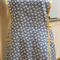Market Days Ladies blue apron