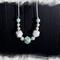 Silicone beaded necklace - ice dreams